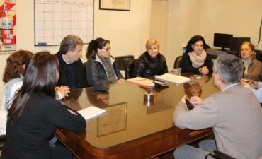 La intendenta junto a su equipo de gobierno se reunió con concejales
