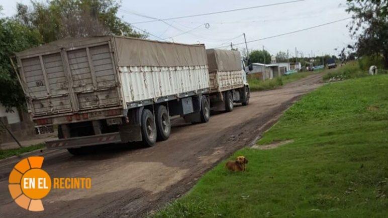 Proyecto para prohibir la circulación y estacionamiento de vehículos pesados