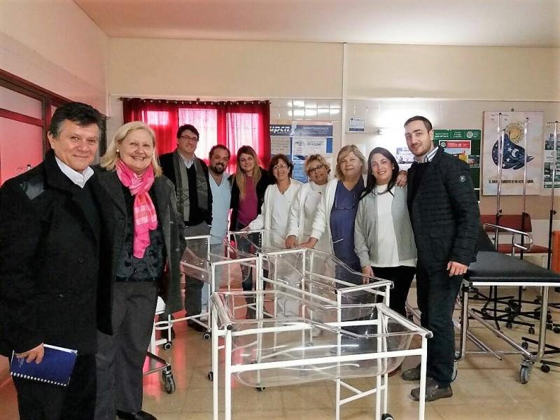 Diputados Socialistas entregaron equipamiento en el hospital San José