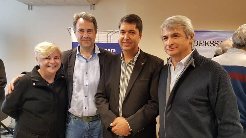 Clerici y Casalegno presentes en el 79 aniversario del Centro Económico
