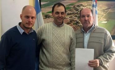 Rasetto entregó importante aporte para la comisaría de Carrizales