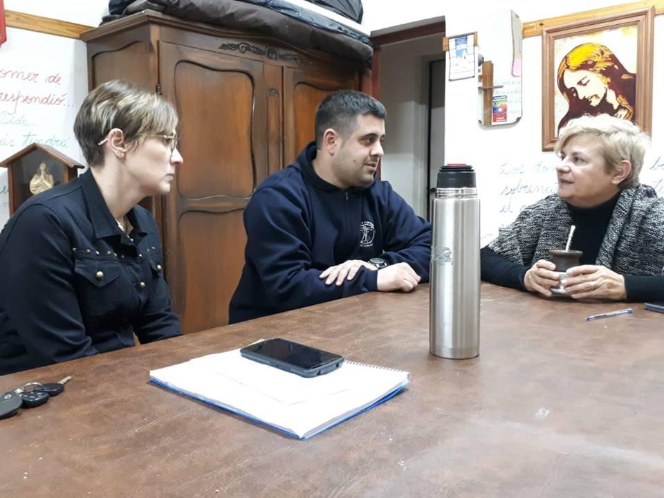 La intendenta entregó aporte a la Asociación Civil Por una niñez con esperanza