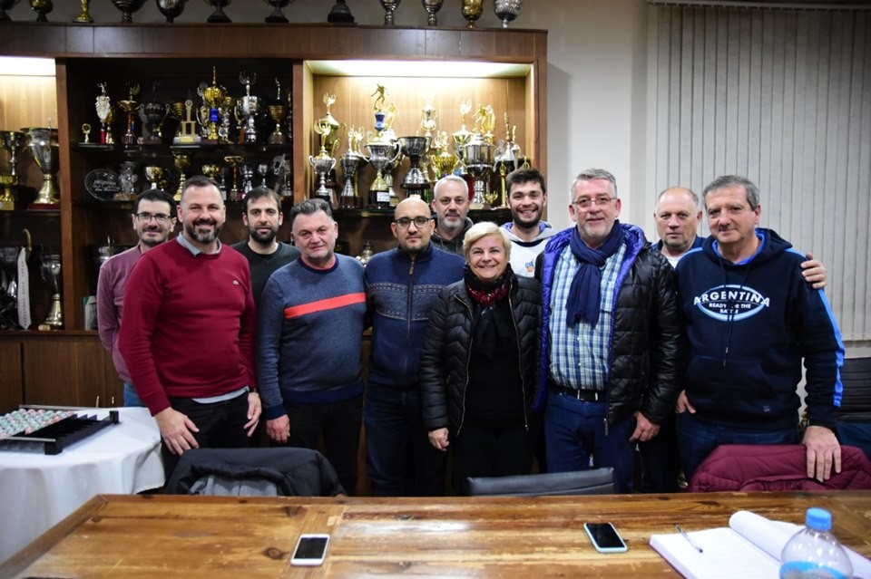 Reunión entre autoridades de Sport y el Municipio