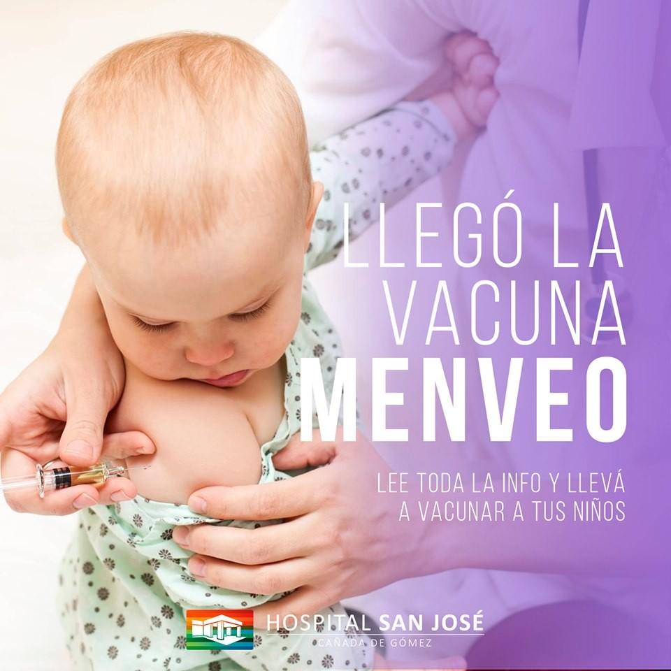 Llegaron las dosis de la vacuna Menveo