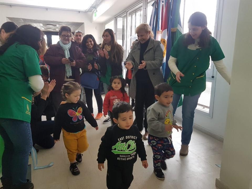 Comenzó a funcionar el jardín Maternal Cañada de Gómez