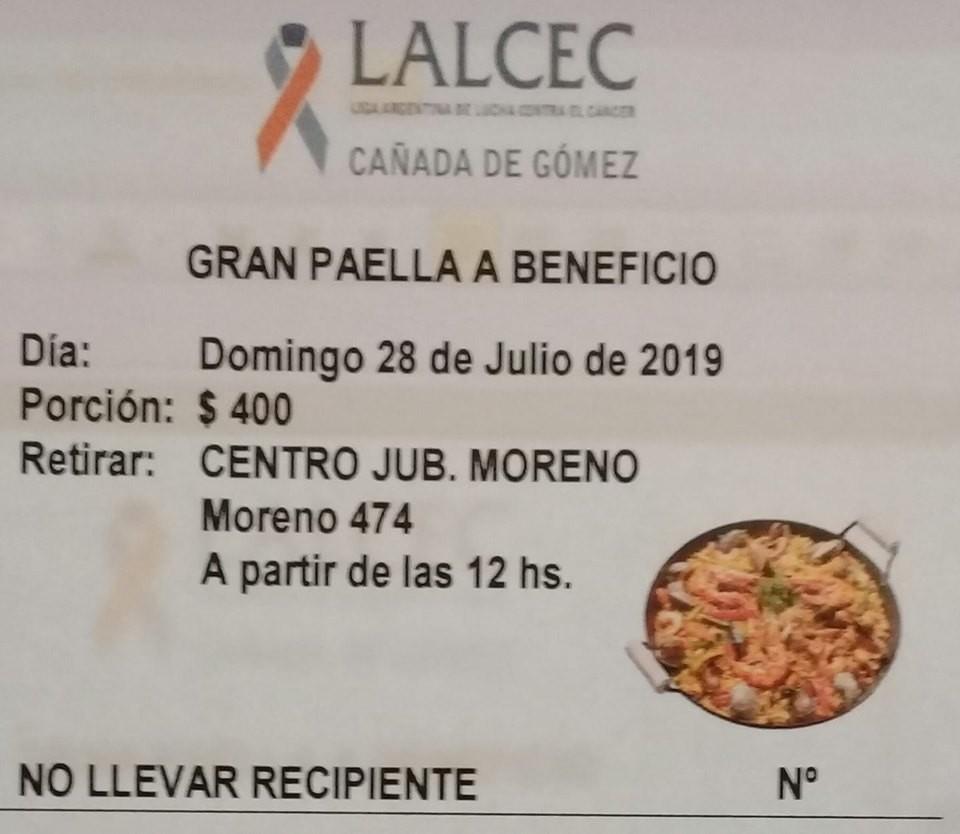 Tradicional Paella de LALCEC