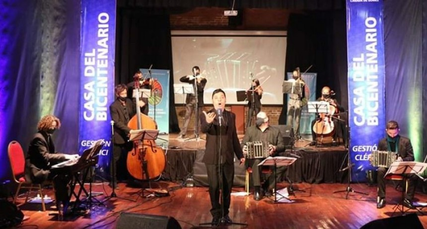 LA ORQUESTA MUNICIPAL DE TANGO BRILLÓ EN EL RECITAL VIRTUAL