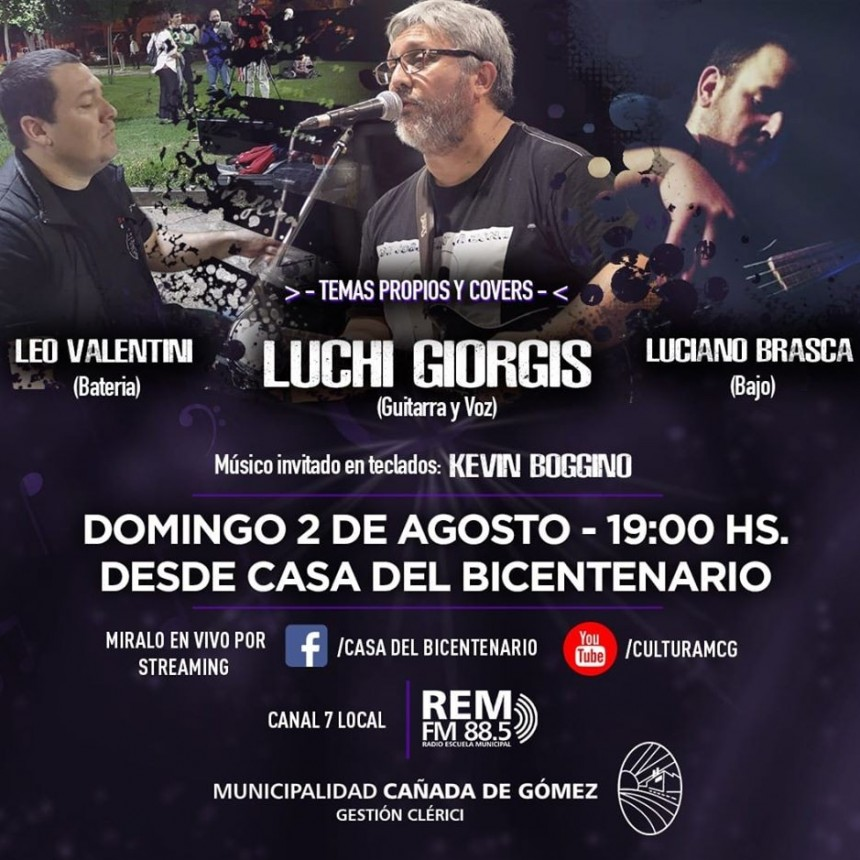 Luchi Giorgis en vivo por streaming