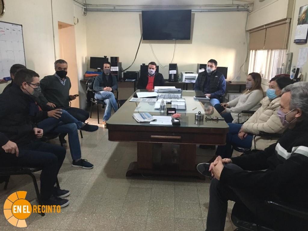 Reunión entre el Concejo y el Centro Económico