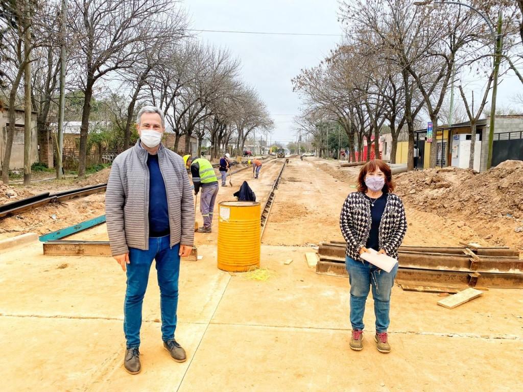 Obras de pavimento