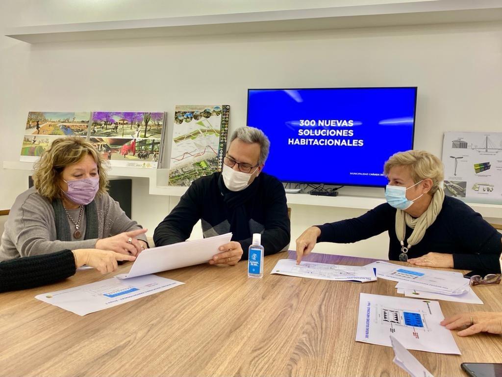 Clerici y Casalegno anunciaron el Plan 300 Soluciones Habitacionales