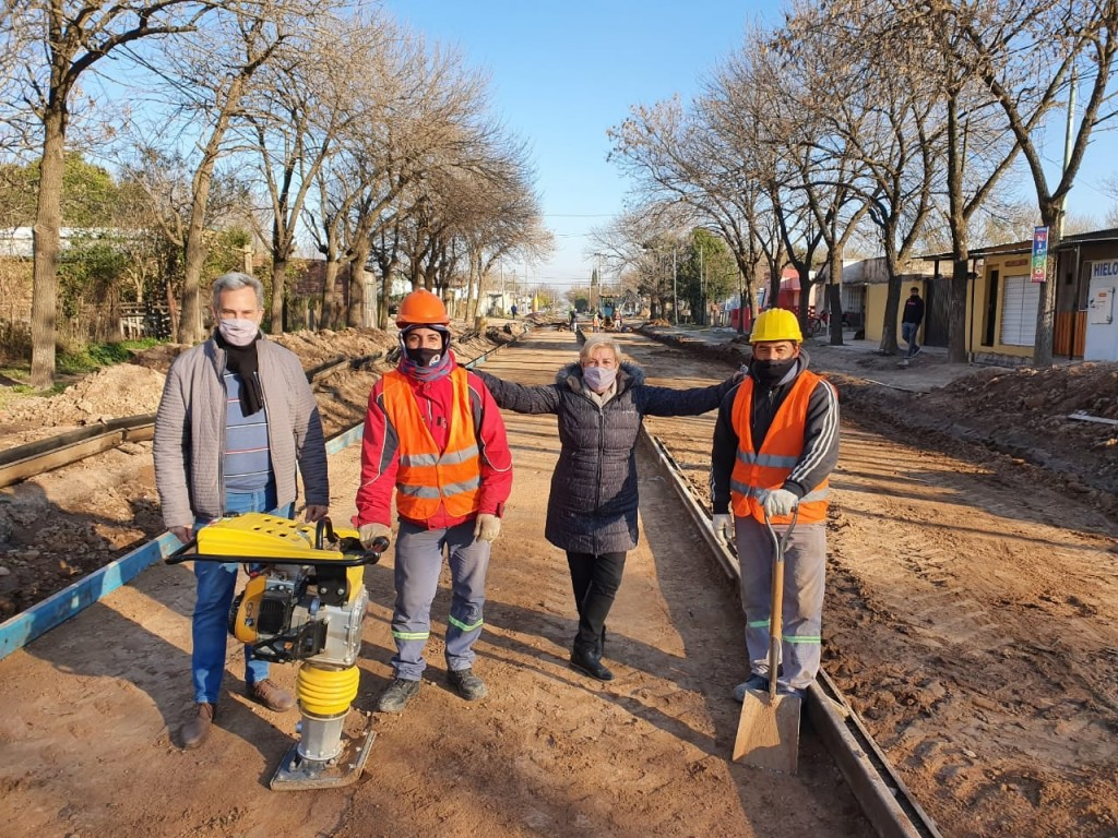 El Municipio avanza con obras en la zona Sur