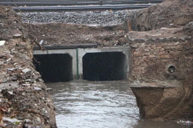 Las obras hidrícas y los trabajos de drenaje funcionaron de manera correcta
