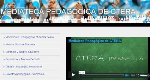 Mediateca Pedagógica de CETERA