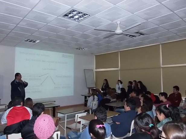 Nueva charla sobre Educación Vial en los colegios
