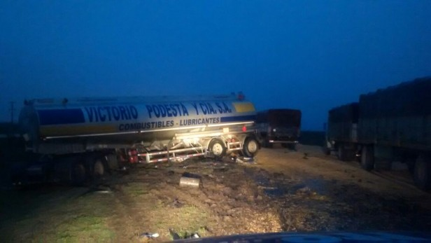 Accidentes de tránsito en autopista en KM 349