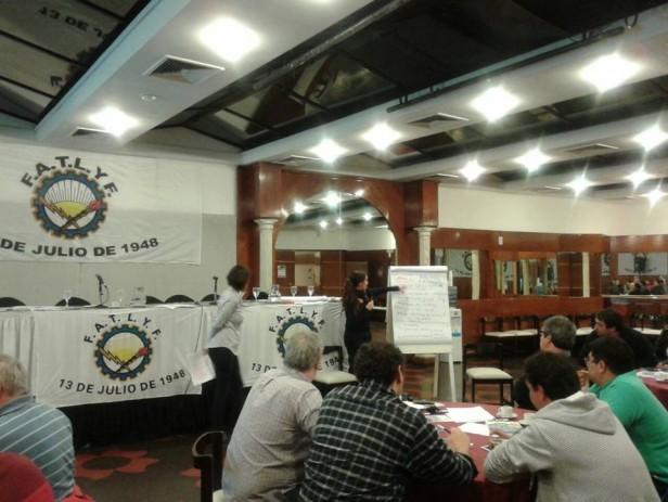 El Sindicato de Luz y Fuerza participó de una jornada organizada por la Federación