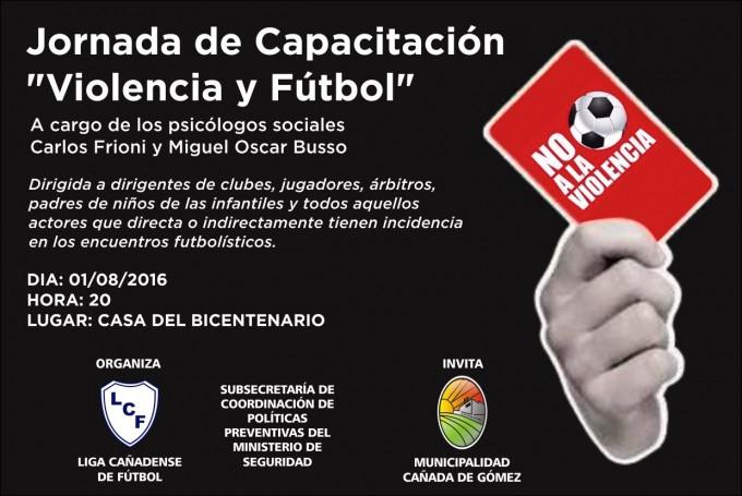 Jornada de Capacitación Violencia y Fútbol