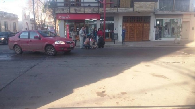 Accidente de tránsito en Ocampo y España