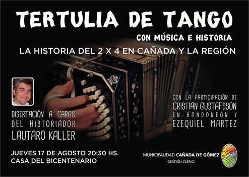Tertulia de Tango e Historia
