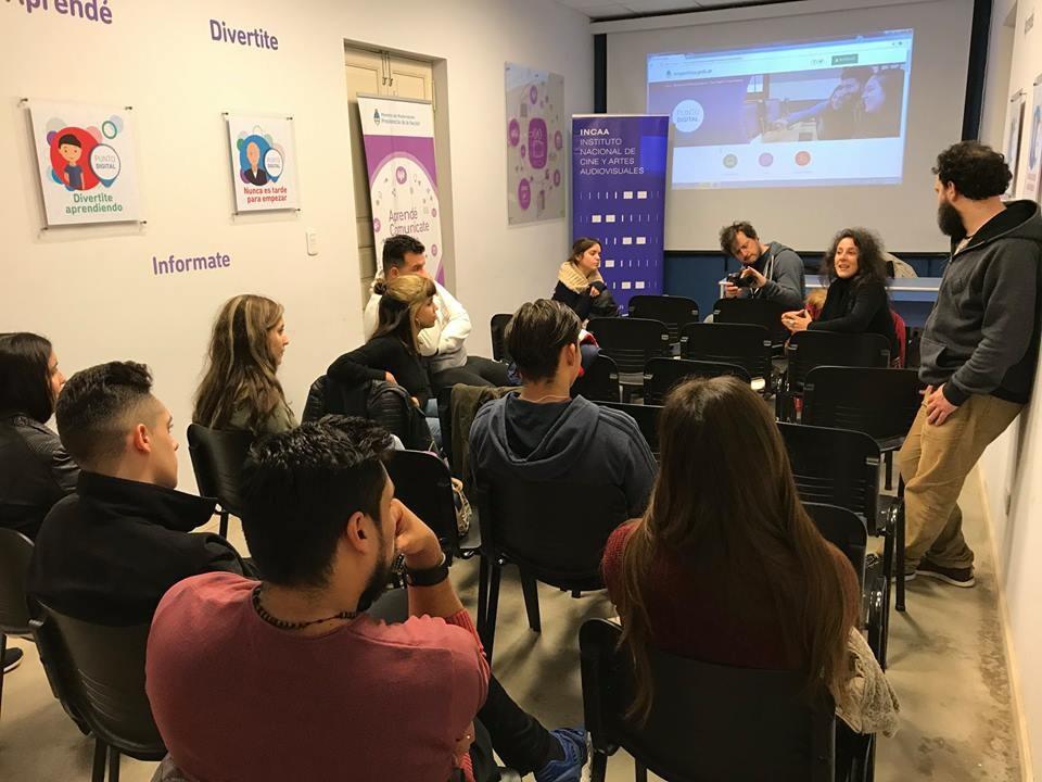 Capacitadores del INCAA dictaron un curso en Punto Digital