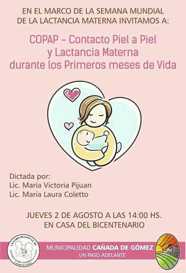 Charla sobre lactancia materna