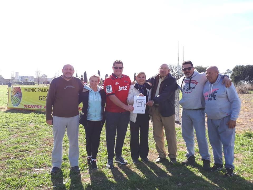 Clerici visitó la Cañada Rugby