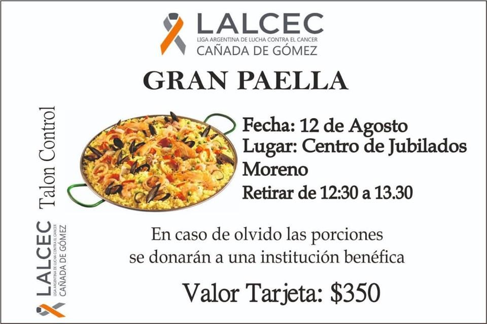 Paella de Lalcec