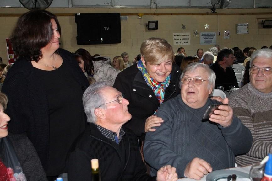 Clérici junto a  Escuela Campo Cardini en su 70 Aniversario