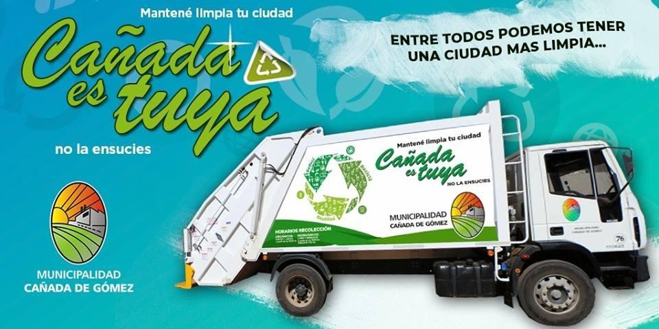 La recolección de residuos se hará el martes