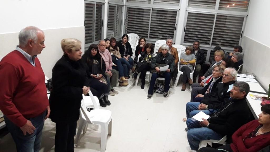 Clérici participó de una reunión informativa en la Comisaría 1ra en zona Norte