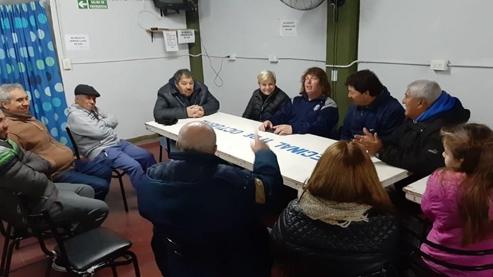 Reunión por los avances de obras en el FONAVI