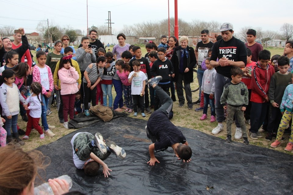 Los niños festejaron junto a vecinales y el municipio