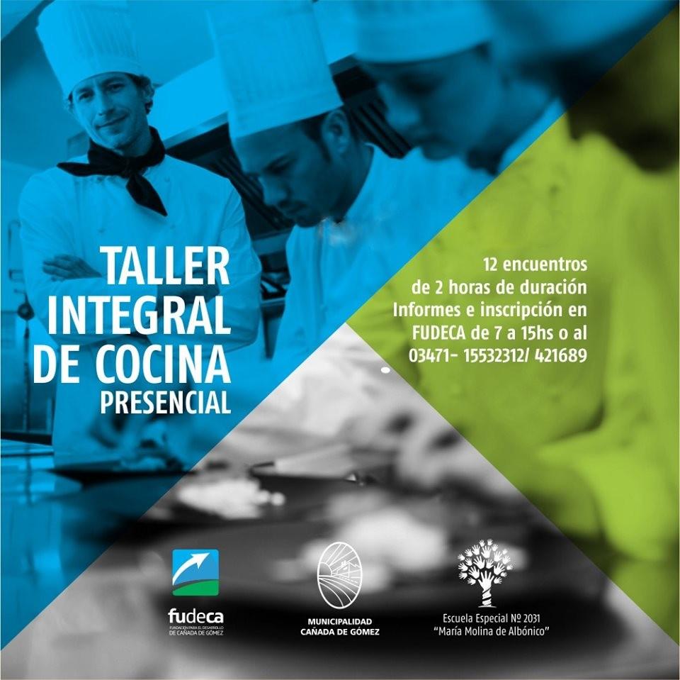 Inscripción abierta para el Curso-Taller Integral de Cocina