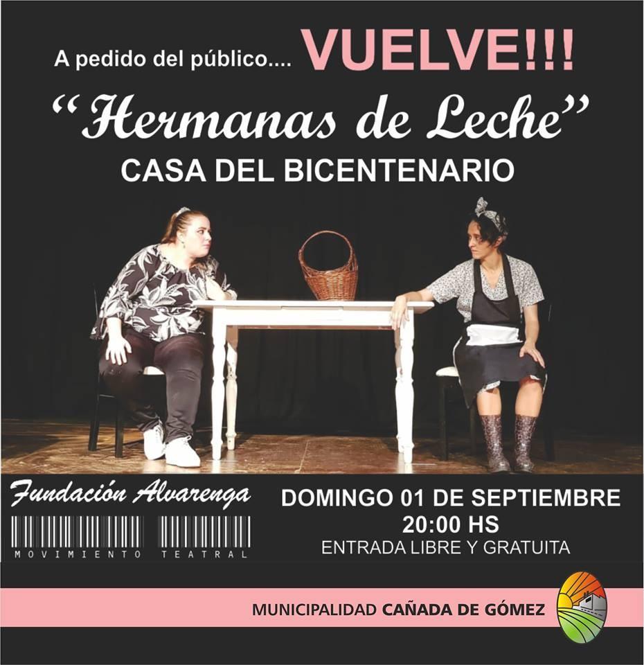 Fundación Alvarenga presenta Hermanas de Leche
