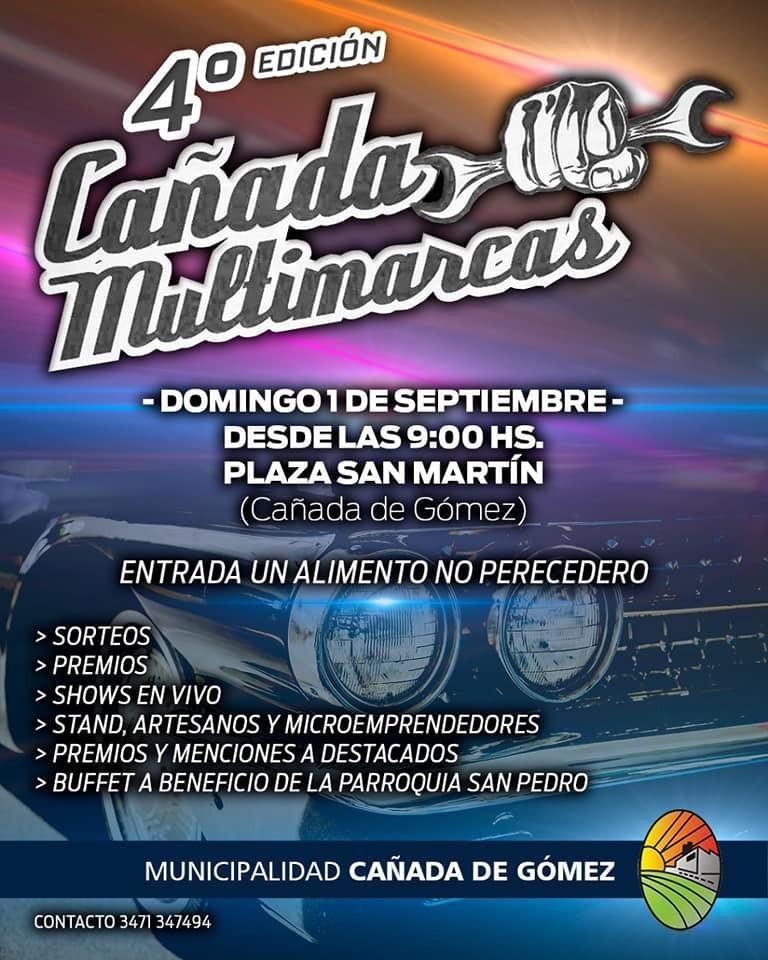 Este domingo se viene el 4to Cañada Multimarcas
