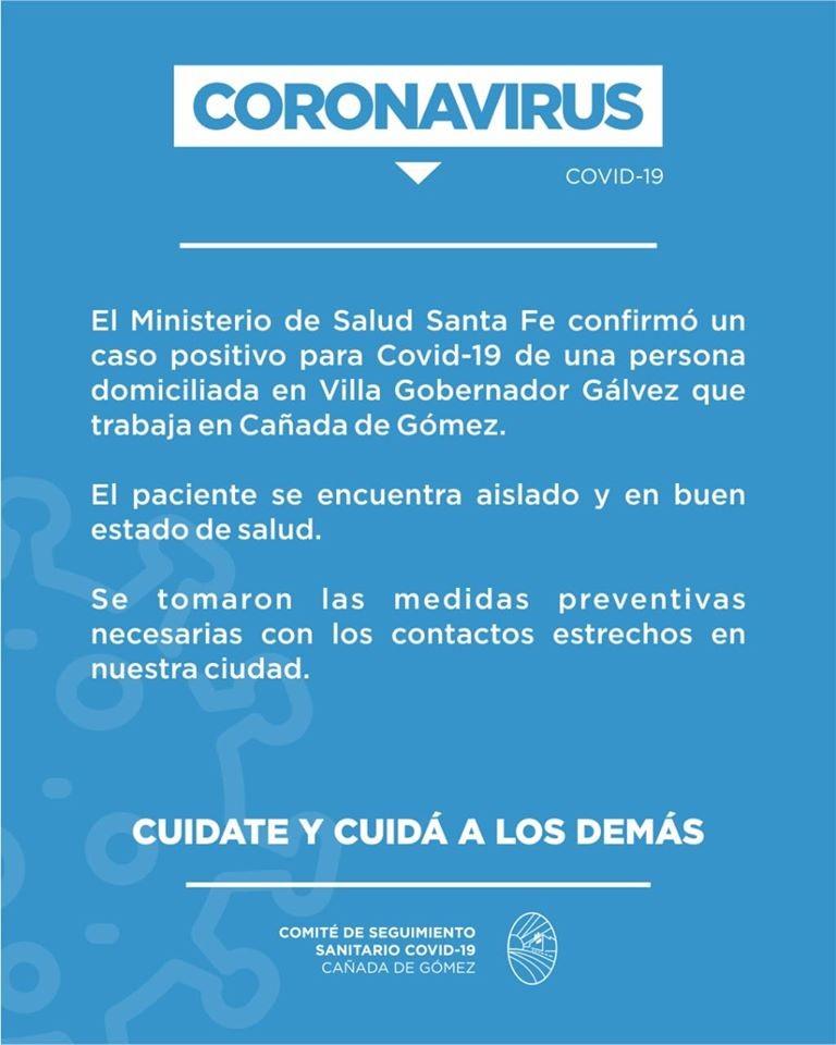 INFORME DEL COMITÉ DE SEGUIMIENTO SANITARIO COVID-19