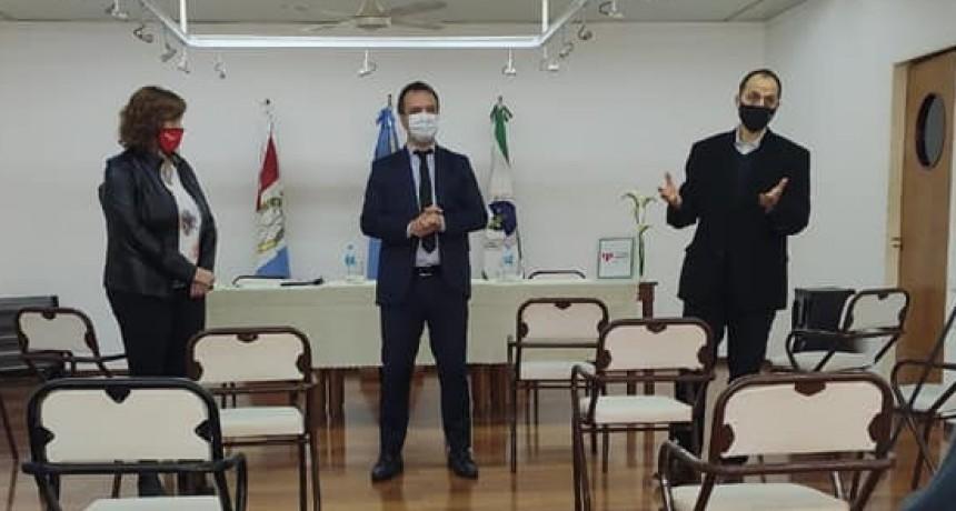 Cañada no participó de la firma de convenio con la Inspección General de Personería Jurídica