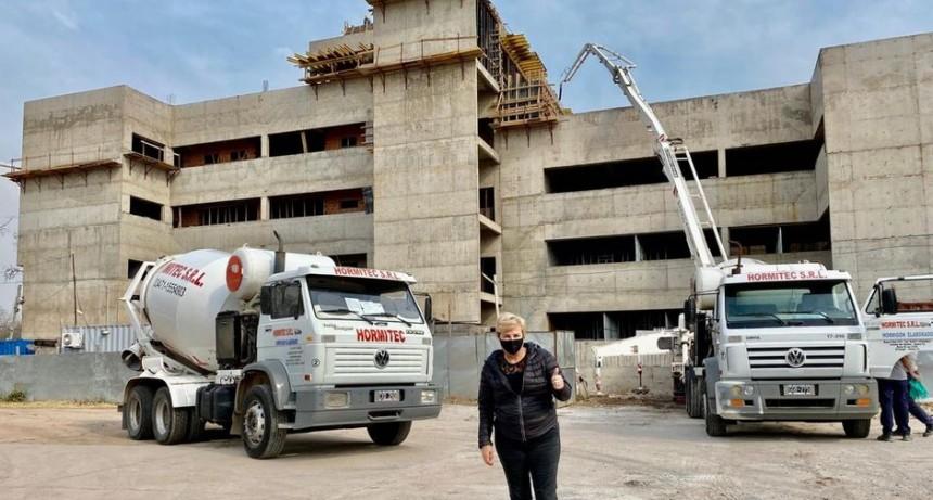 CLÉRICI DESTACÓ AVANCES EN LA CONSTRUCCIÓN DEL NUEVO EDIFICIO DE TRIBUNALES