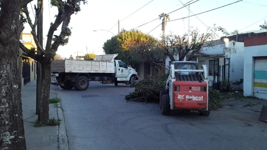 Trabajos de higiene urbana