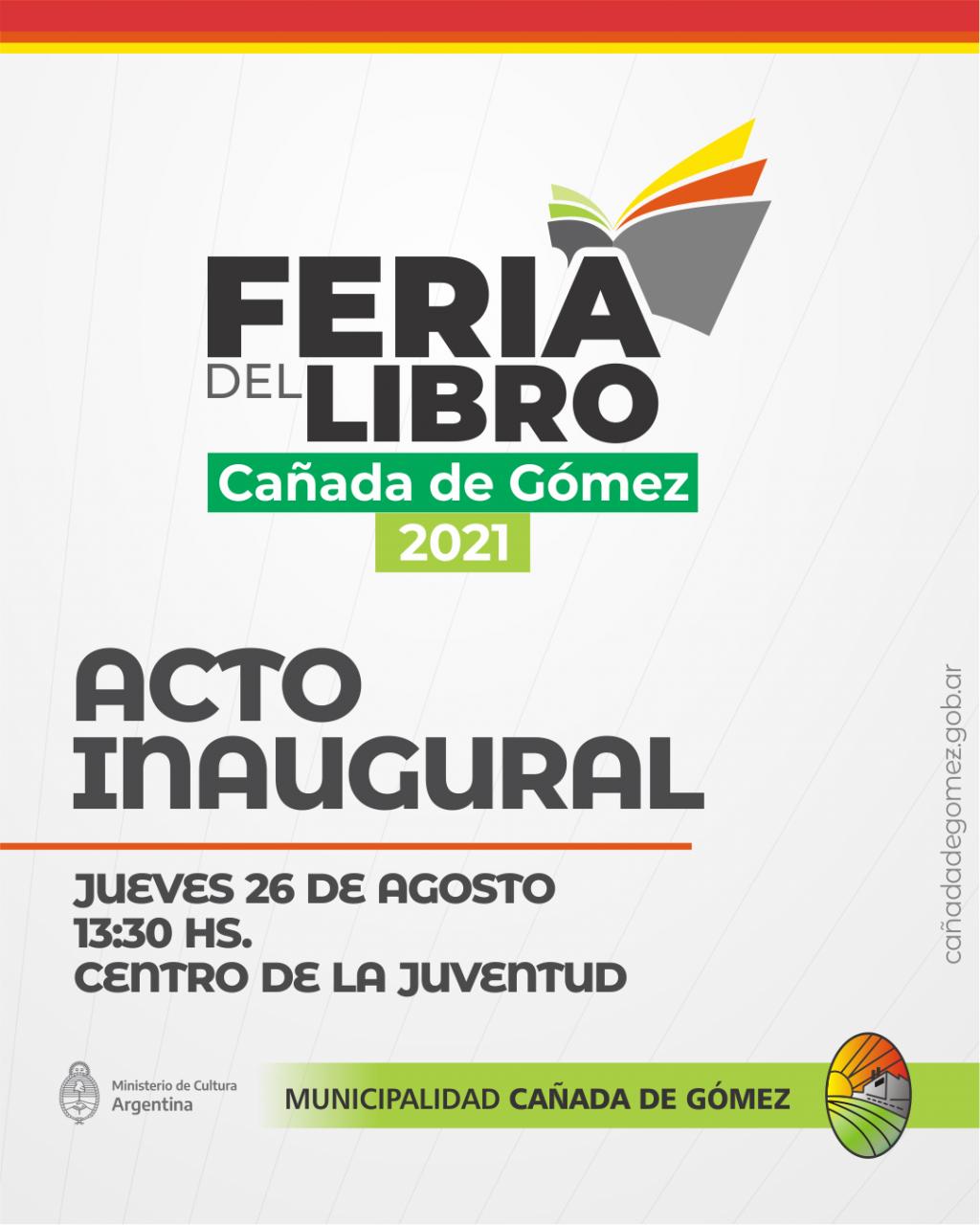 Feria del Libro 2021 en el nuevo Centro de la Juventud