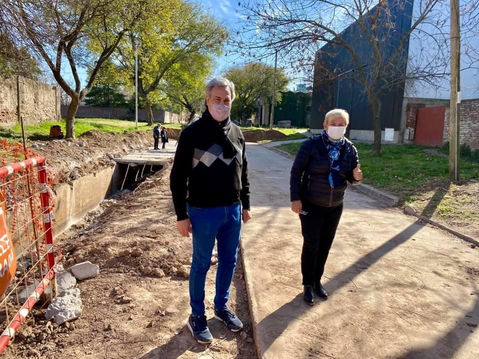 El Municipio avanza con trabajos de pavimento