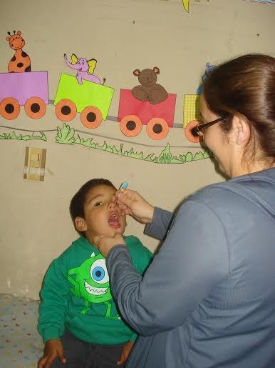 Está en vigencia la Campaña de Vacunación contra el Sarampión, la Rubeola y la Poliomielitis