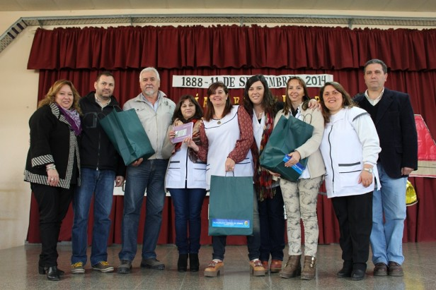 Festejos por el Día del Maestro en la Escuela Sarmiento