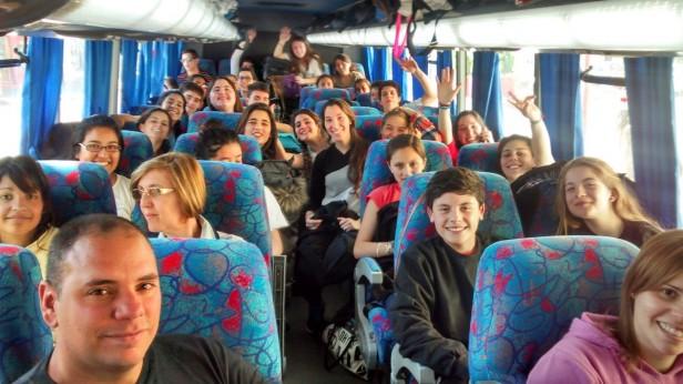 Alumnos cañadenses participan de un Encuentro sobre Educación y Derechos Humanos en Trelew