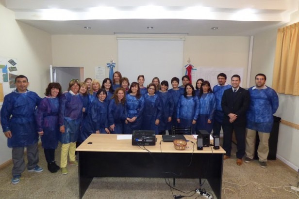 Directivos del Hospital San José visitaron el Laboratorio Industrial Farmcéutico
