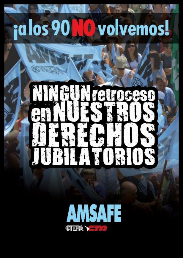 AMSAFE emitió un comunicado sobre jubilaciones