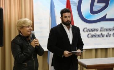 La intendenta participó de actividades por el Día del Joven Empresario