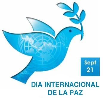21 de Septiembre Dia Internacional de la Paz