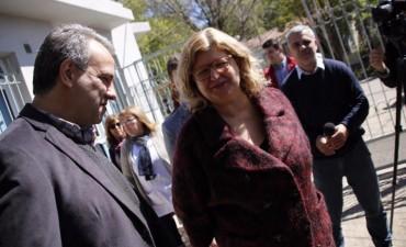 Casalegno participó de la inauguración de remodelaciones en la Region V